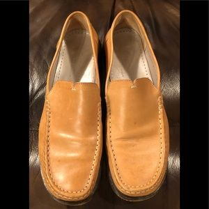 EUC Cole Haan Tan Leather Loafers Flats Shoes 7.5